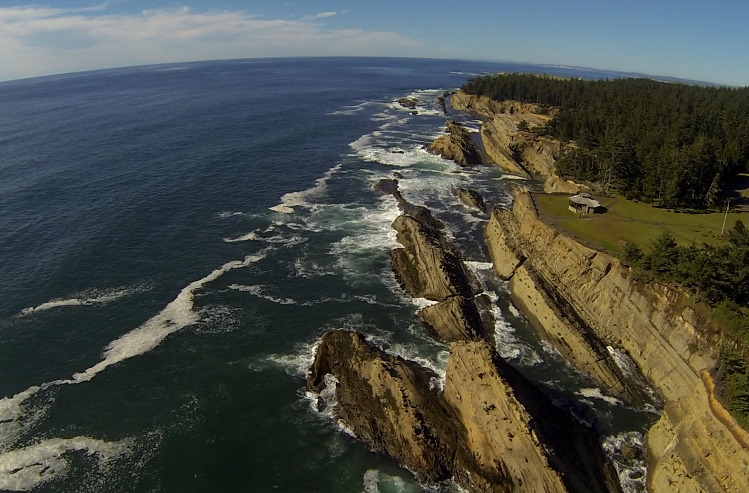 Shore Acres State Park Aerial View Coos Bay Events