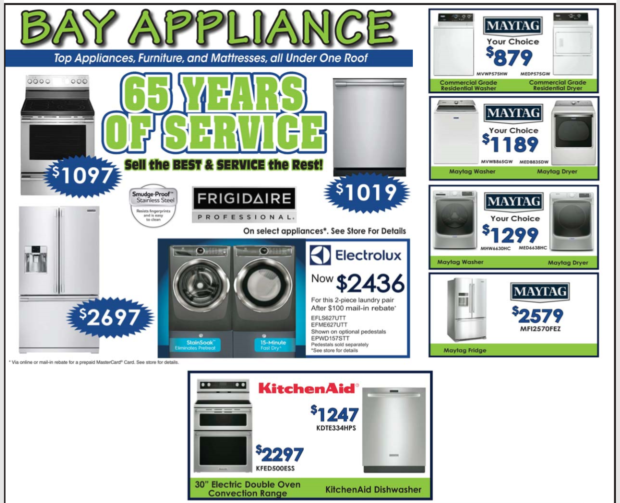 Bay Appliance Special Coos Bay Events Calendar News